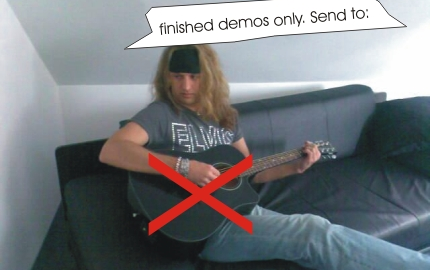 Songwriter Demos: Anforderungen?