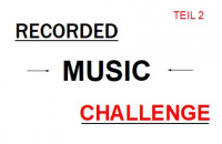 Recorded Music Challenge Teil 2: Sync
