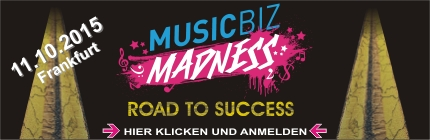 MusicBiz Madness Konferenz 2015 - Road To Success